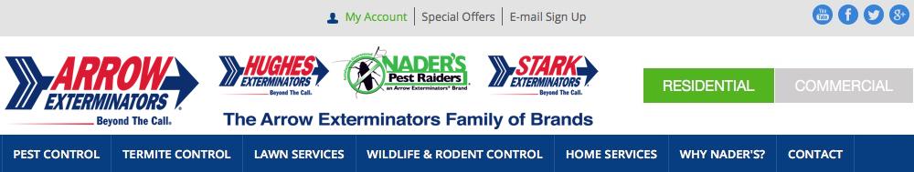 Nader's Pest Raiders